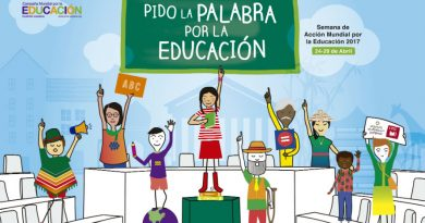 Cartel de la Semana de la Educación 2017