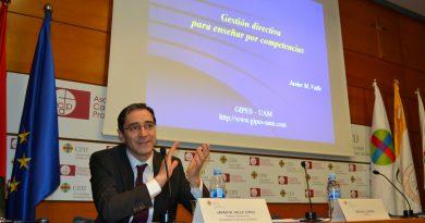 """Javier M. Valle: """"Las competencias son la única manera de enseñar en el siglo XXI"""""""