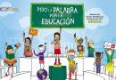 """""""Pido la Palabra por la Educación"""" lema en esta Semana de Acción Mundial por la Educación"""