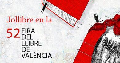 Jollibre en la Feria del Libro de Valencia
