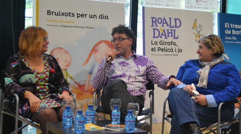 Gemma Pasqual, Carles Cortes y Esperança Camps