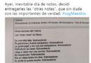"""Un profesor en Sevilla modifica los cánones de notas y pone """"otras"""" a sus alumnos."""