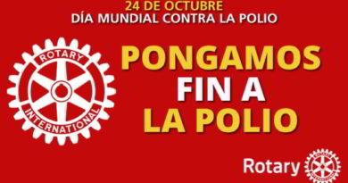 El 24 de octubre se celebra el día mundial de la poliomielitis con un acto conmemorativo en Valencia